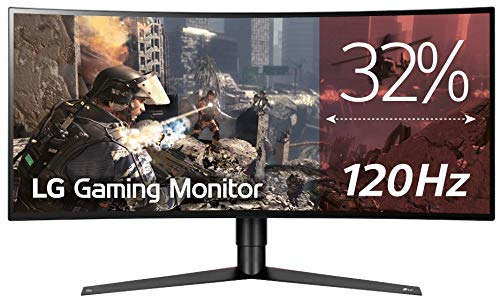 LG 34GK950G - Monitor Gaming UltraWide QHD de 86,7 cm (34') con Panel NanoIPS (2560 x 1080 píxeles, 21:9, 1 ms con MBR, 240Hz, 400 cd/m², 1000:1, NTSC 72%) Color Negro