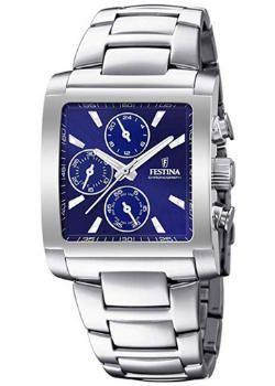 relojes de pulsera cuadrados para hombre, Festina F20423/2, futurbuy