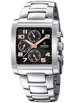 relojes de pulsera cuadrados para hombre, Festina F20423/7, futurbuy