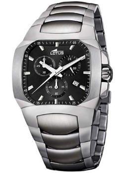 relojes de pulsera cuadrados para hombre, Lotus 15500/8, futurbuy