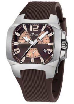 relojes de pulsera cuadrados para hombre, Lotus 15515/2, futurbuy