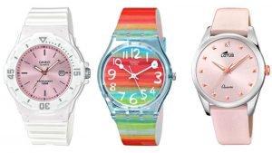 relojes correa de piel o resina tendencia mujer fashion, futurbuy