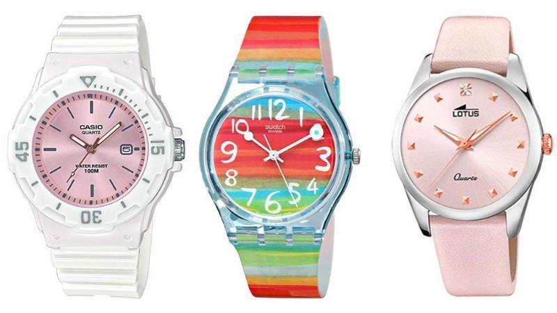 ⌚ » Mejores relojes correa de piel o resina de mujer tendencia 2021