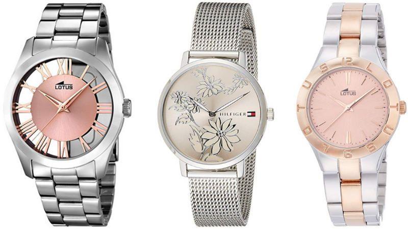 Relojes plateados tendencia mujer, futurbuy