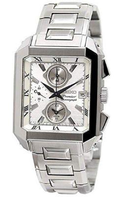relojes de pulsera cuadrados para hombre, Seiko SNA741P1, futurbuy