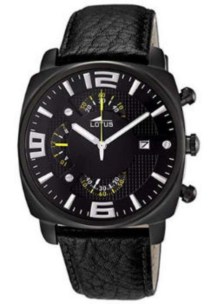 relojes de pulsera cuadrados para hombre, Lotus 10108/3, futurbuy