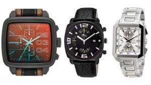 relojes de pulsera cuadrados para hombre, futurbuy