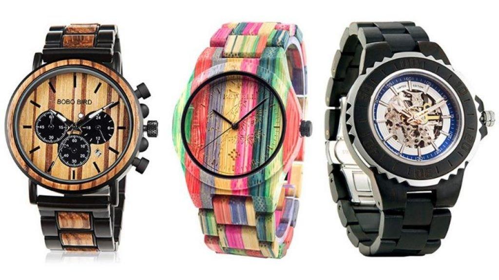 Relojes de madera para hombre en futurbuy