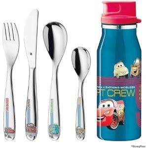 Vajilla con set de cubiertos y botella Wmf Disney cars en Futurbuy