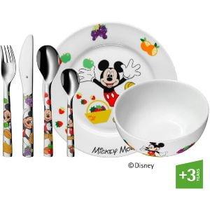 Vajilla con set de cubiertos y platos Wmf Disney Mikey Mouse en Futurbuy