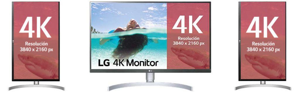 Monitor usb c 4k LG 27UL850